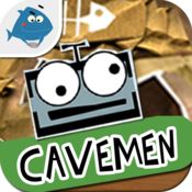 Deskplorers Cavemen (History Book) - for 7 to 11 yo kids