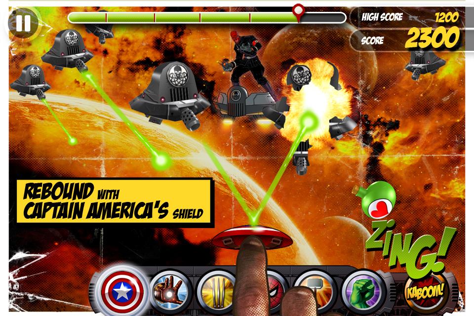 Marvel KAPOW! screenshot 4