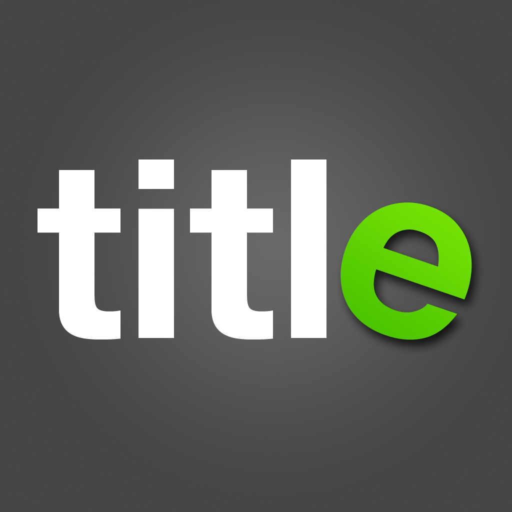 TitleFx - Photo Titling for Facebook, Instagram and more