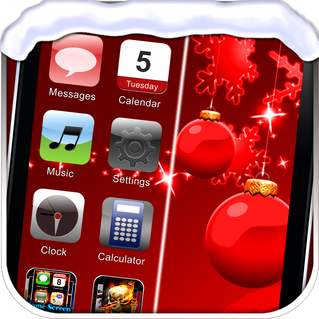 iTheme - Xmas Edition - Themes for iPhone and iPod Touch