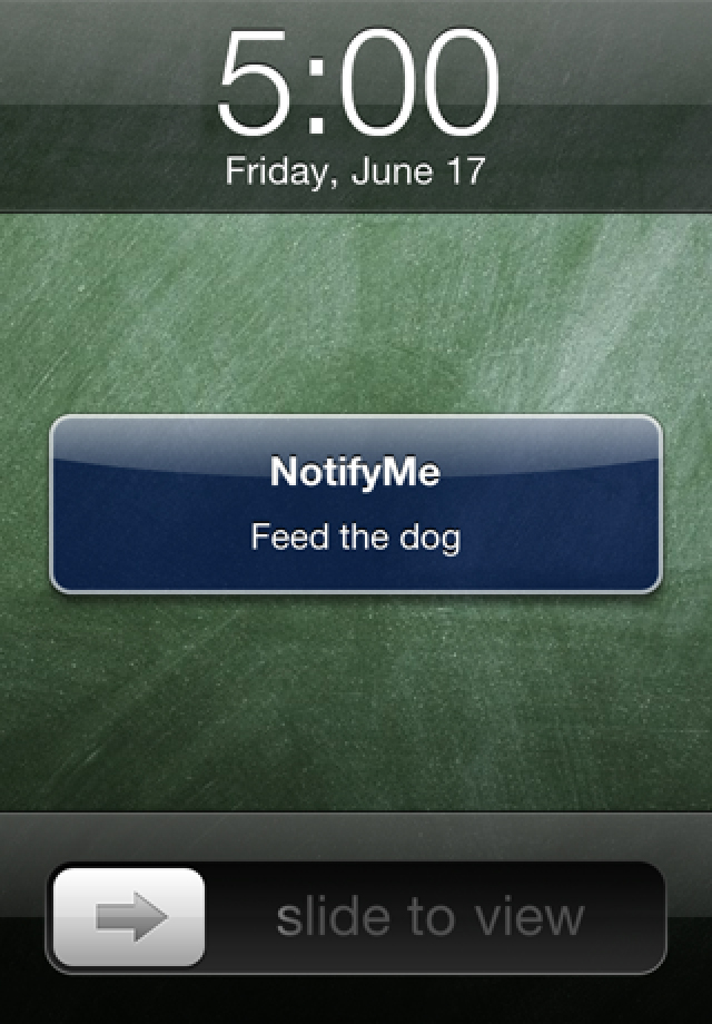 NotifyMe for iPhone screenshot 4