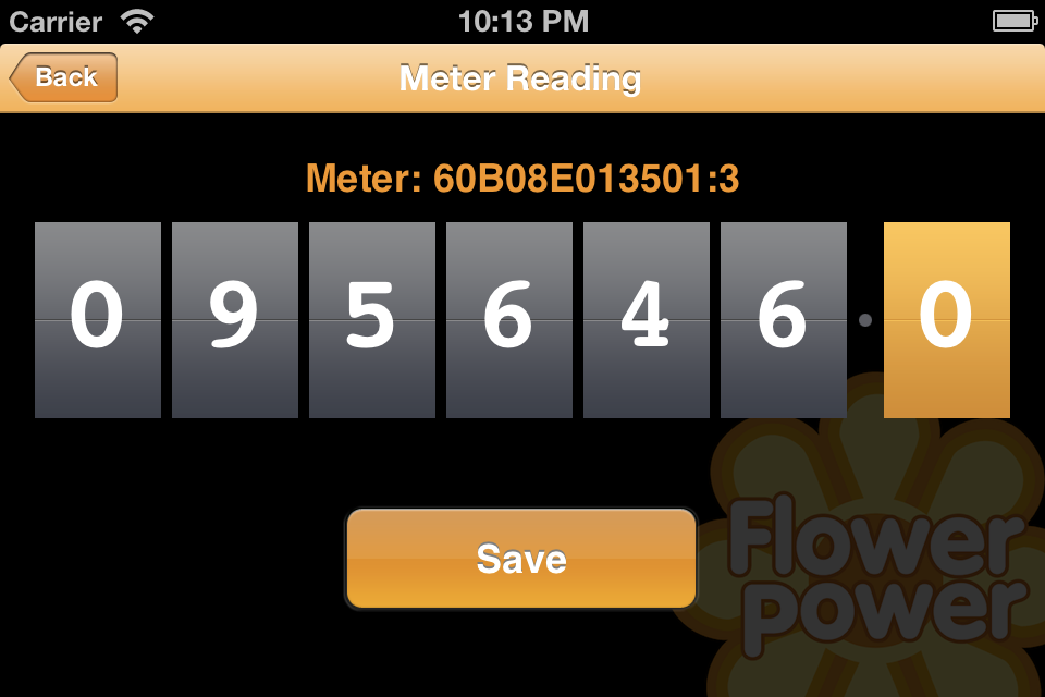 Flower Power Meter Reader screenshot #1