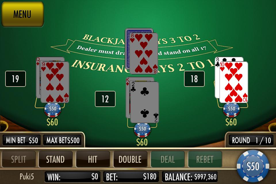 Black Jack Ultimate screenshot 5
