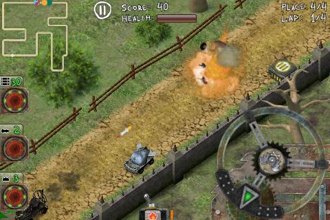 Horror Racing Lite screenshot 3