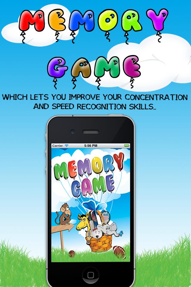 5-in-1 Memory Game Lite screenshot 1