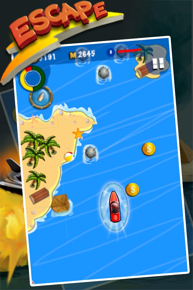 EscapeBoat Pro Screenshot