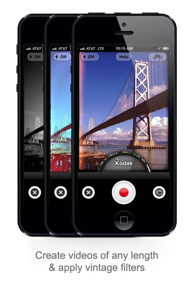 Socialcam screenshot 1