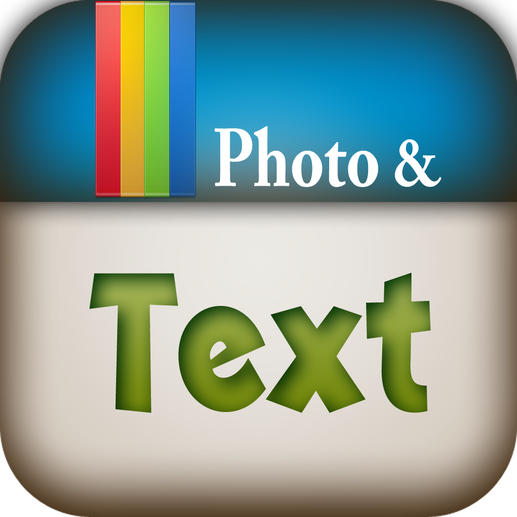 Text on Foto