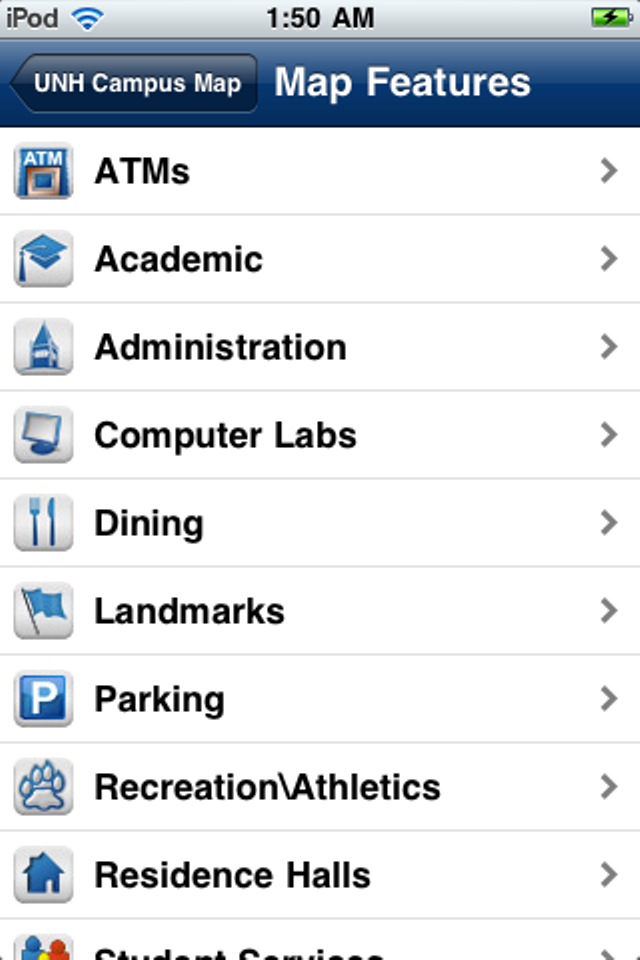 UNH Campus Map | Apps | 148Apps on mub unh map, unh housing map, usc hsc map, usc parking lot map, college football usc location on map, boston college main campus map, gables unh main campus map, unh campus nh map,