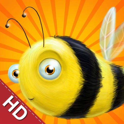 Buzzing Bee HD - Clever Colorful Original Puzzles
