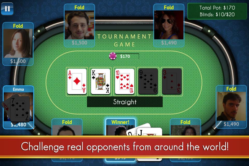 Texas Poker For Prizes - Online Hold'em Action screenshot #5