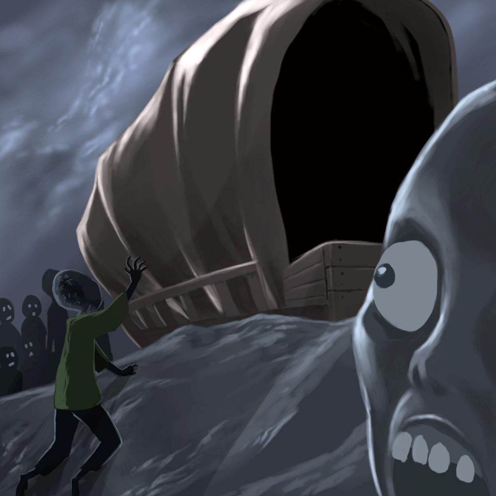 Evil Wagon Trail