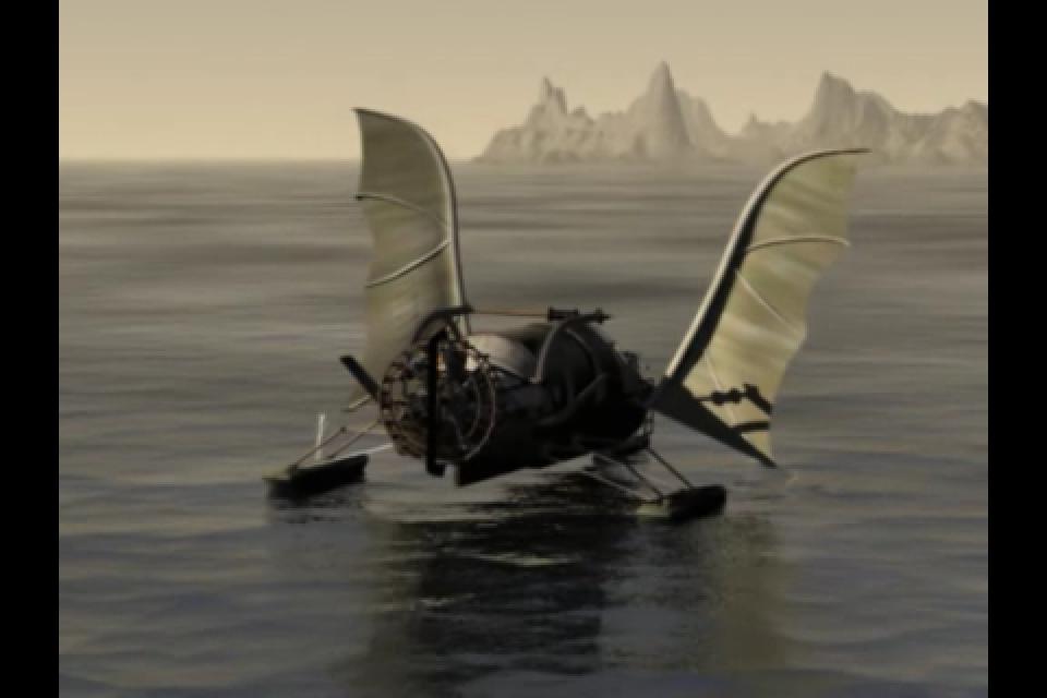 Amerzone: The Explorer's Legacy - Part 2 screenshot 1