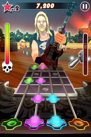 Guitar Rock Tour 2 FREE! screenshot #1