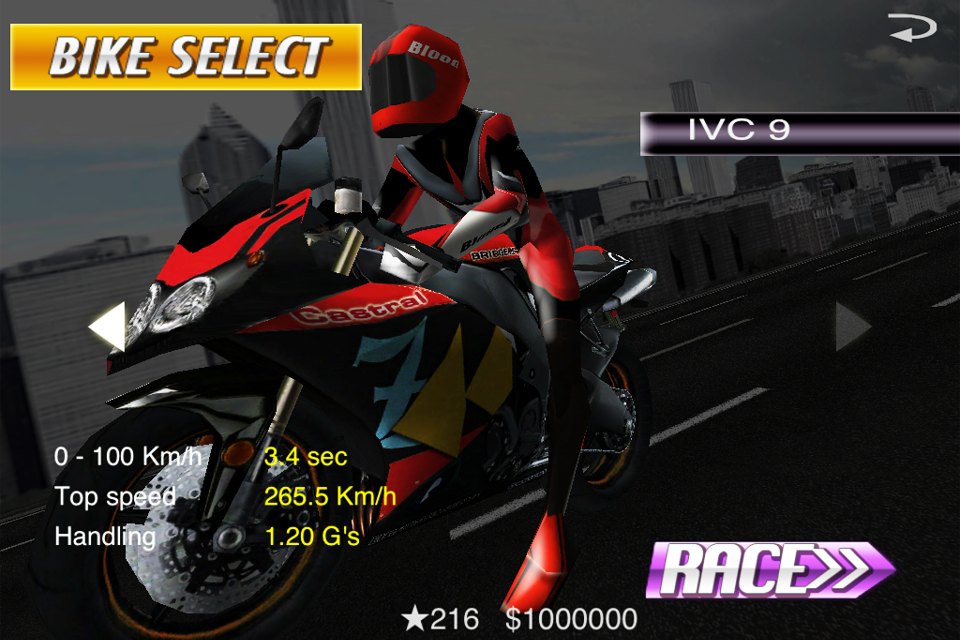 StreetBike: Full Blast Lite screenshot #5