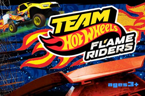 Team Hot Wheels Flame Riders™ screenshot 1