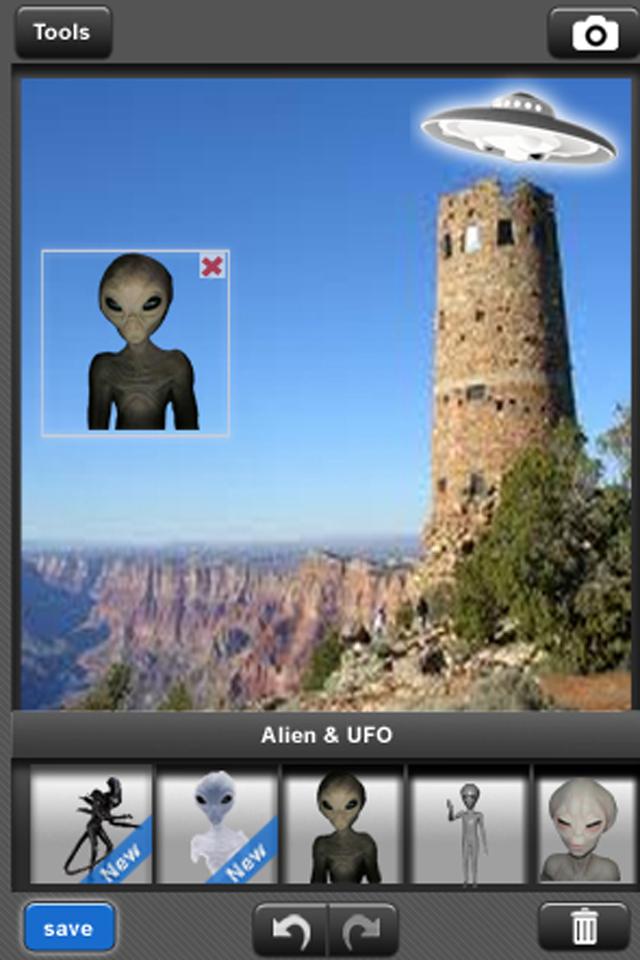 Camera Hoax Screenshot