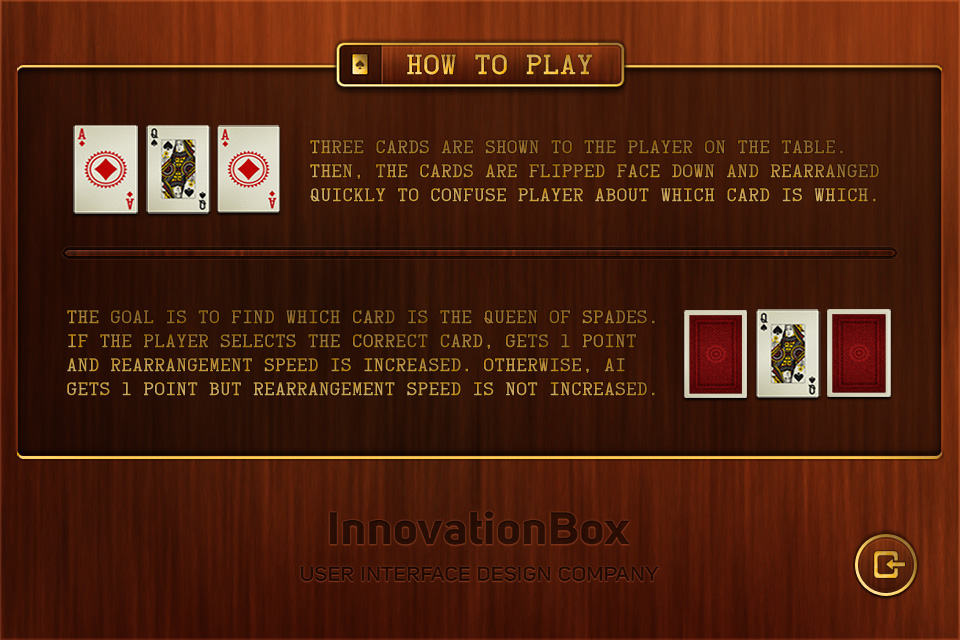 3 Card screenshot #2