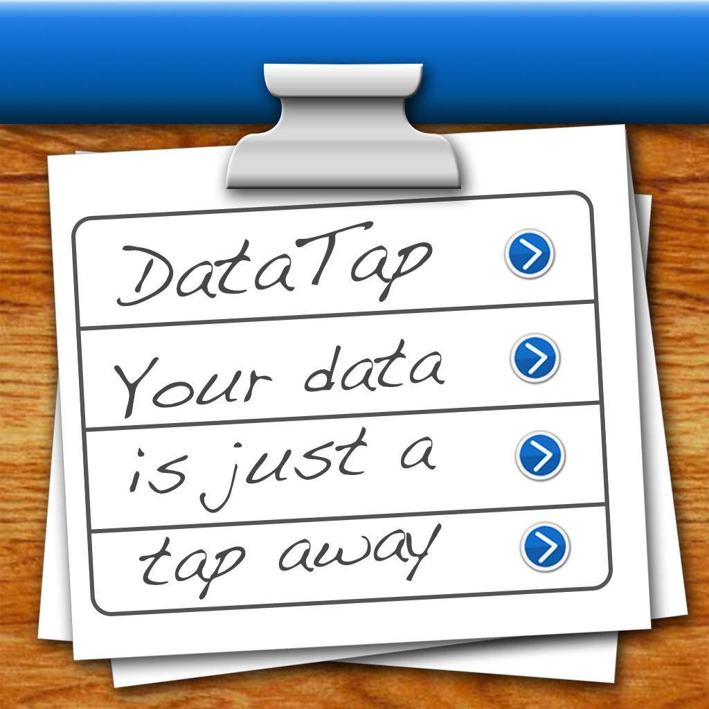 DataTap database - Free backup app Mac+PC