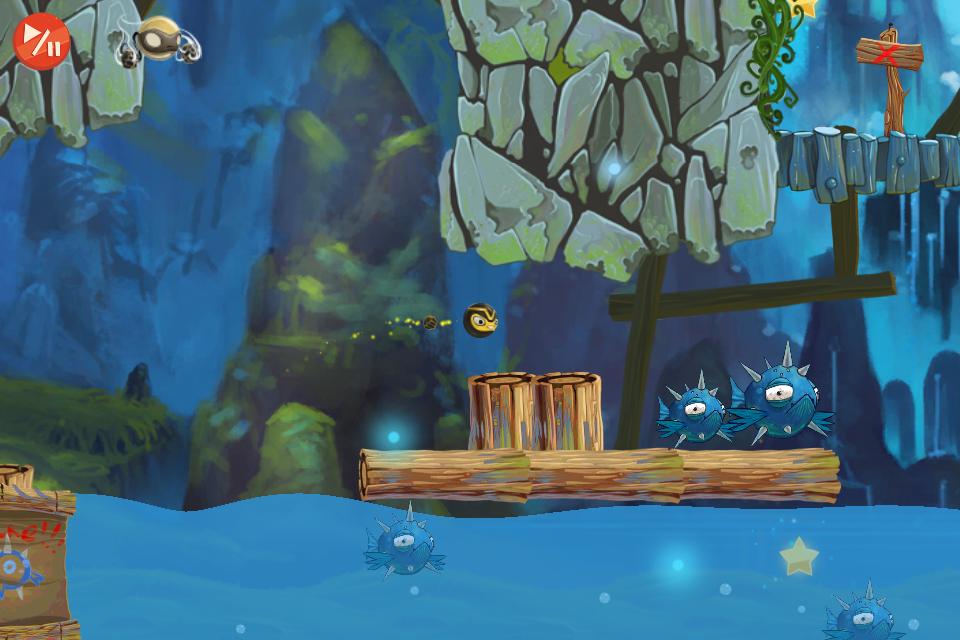 Golden Ninja HD screenshot 2