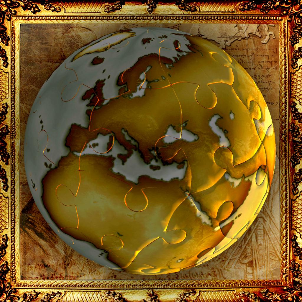 World Puzzle 3D