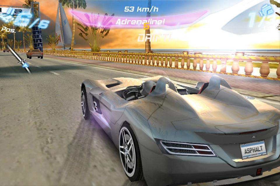 Asphalt 6: Adrenaline FREE screenshot 3