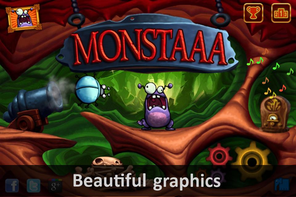 Monstaaa! screenshot 1
