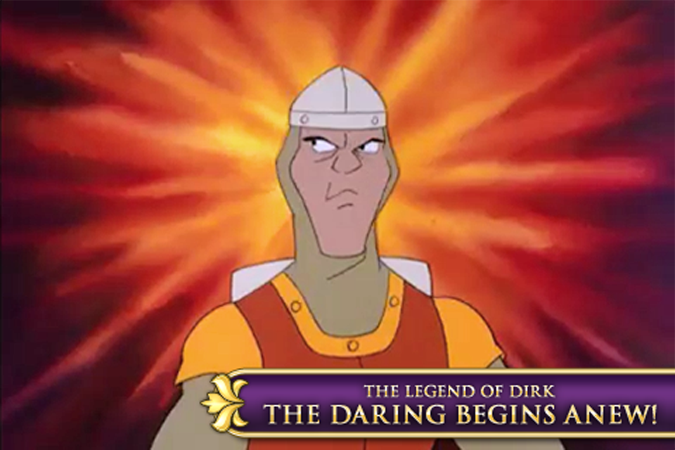 Dragon's Lair 2: Time Warp screenshot #1