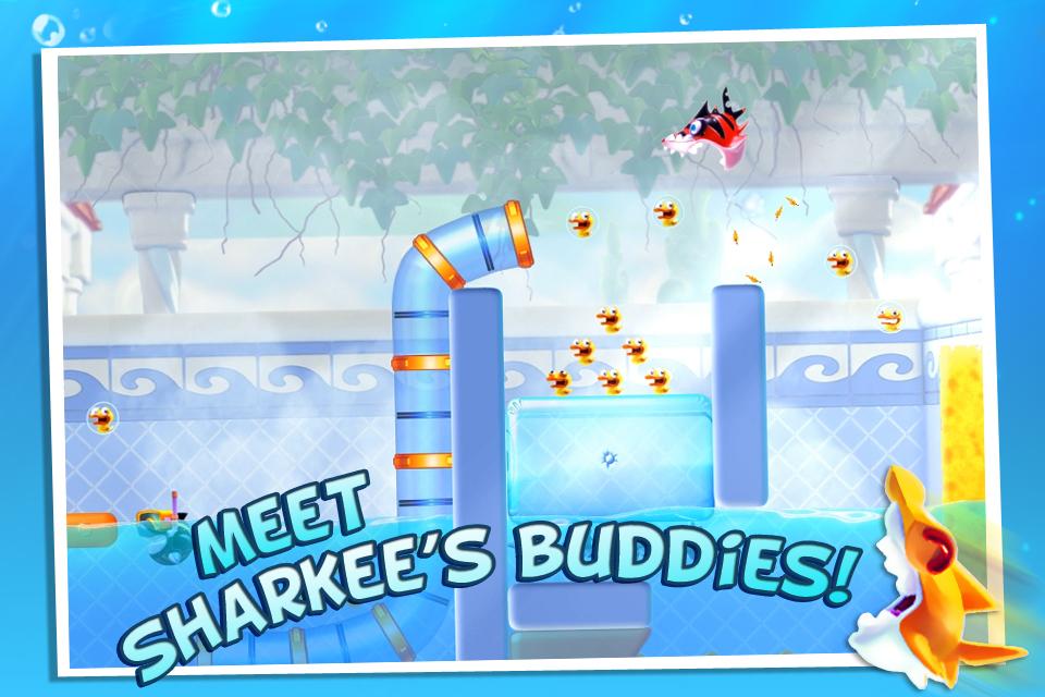 Shark Dash FREE screenshot 3