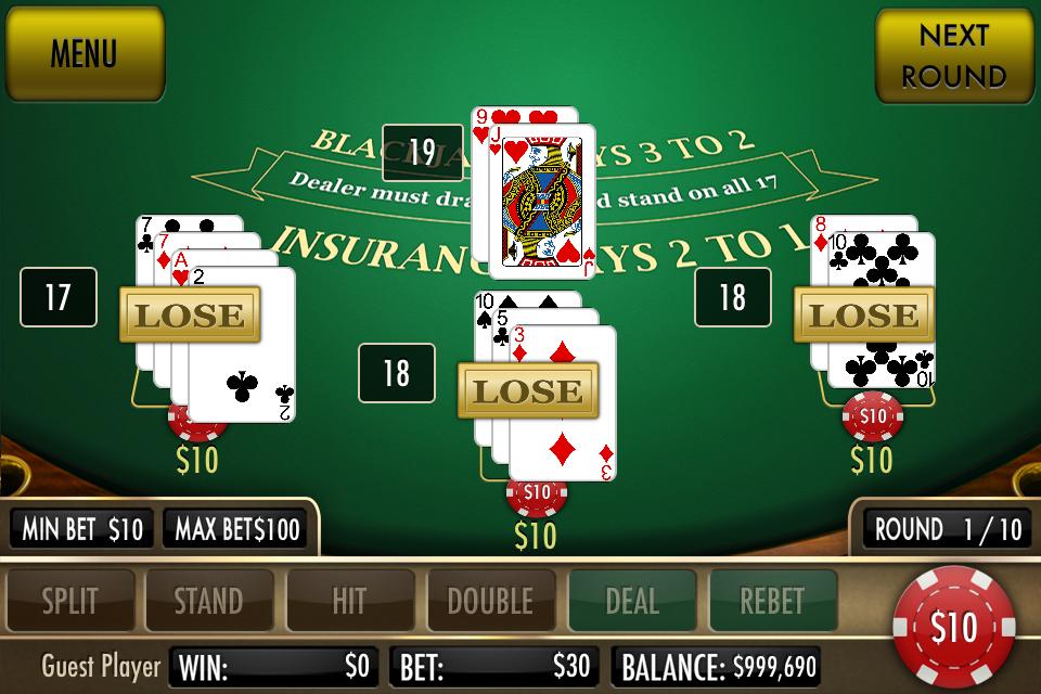 Black Jack Ultimate screenshot 2