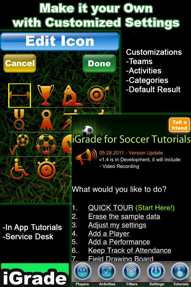 iGrade Soccer screenshot 5