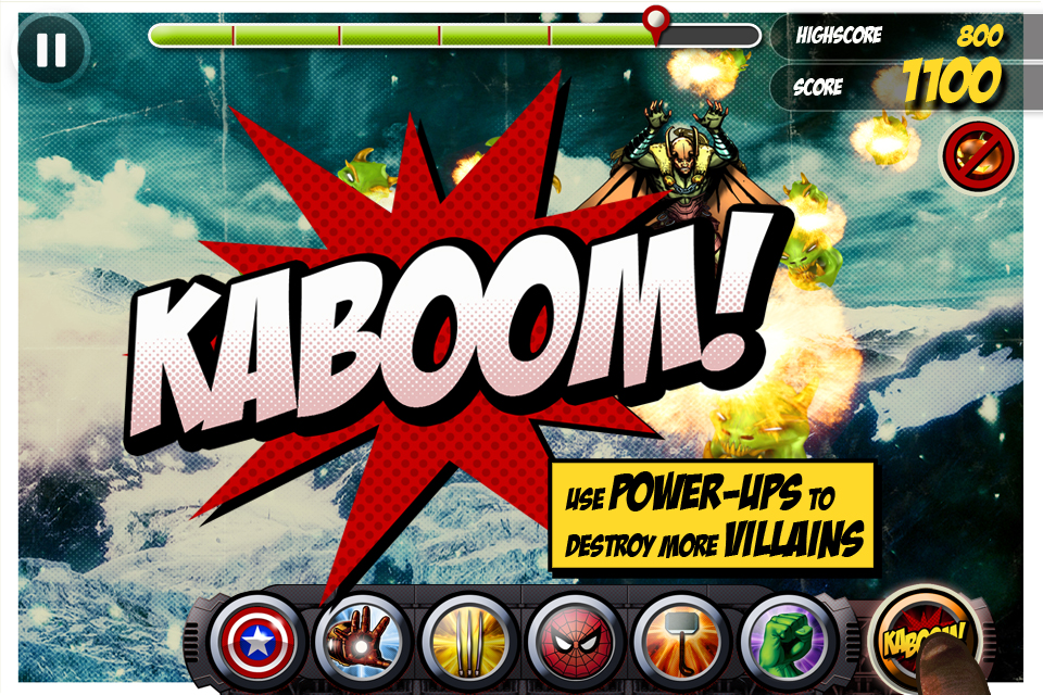 Marvel KAPOW! screenshot 5