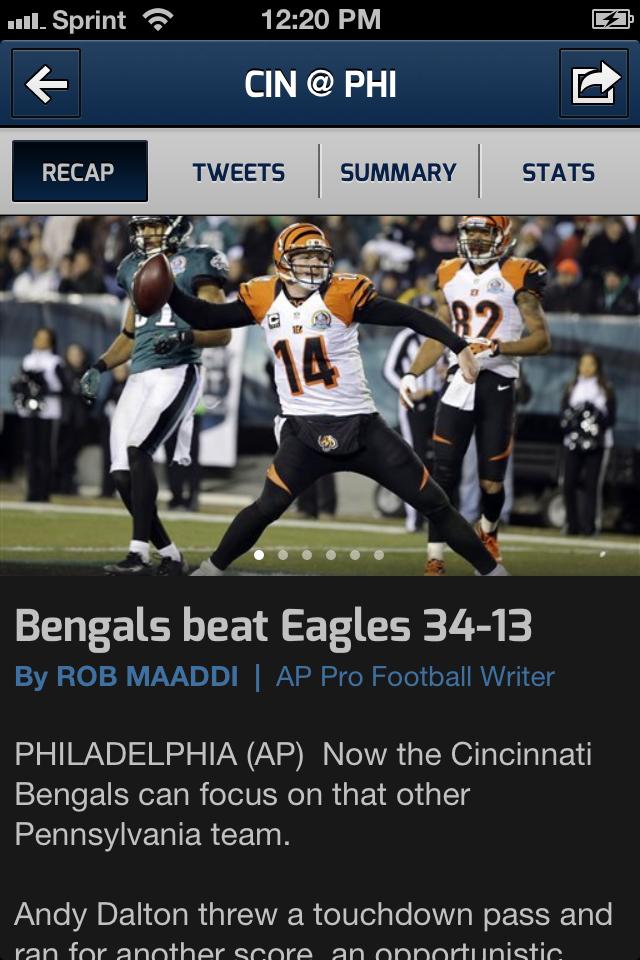 CBS SportCaster screenshot 4