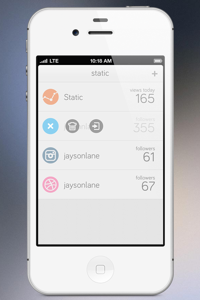 Static for iPhone screenshot 5