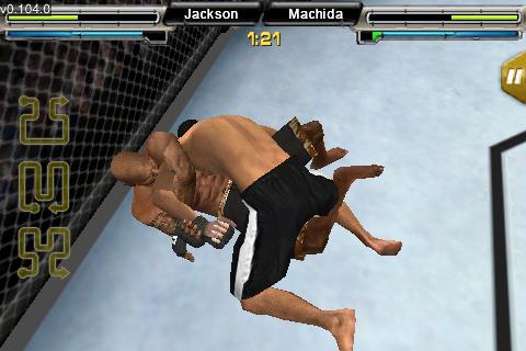 UFC® Undisputed™ screenshot #3