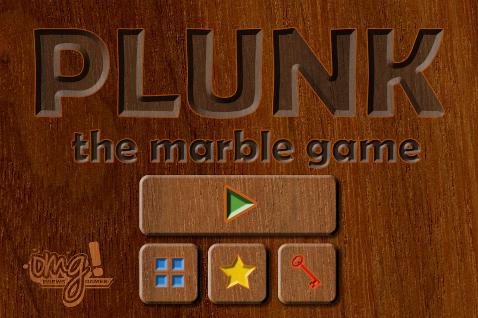Plunk! the marble game by Ontario Microbrewed Games Inc