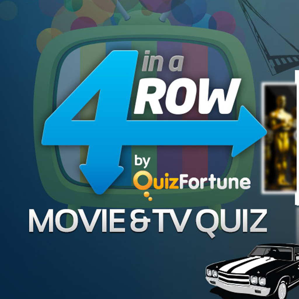 4 in a Row Movies Quiz by QuizFortune