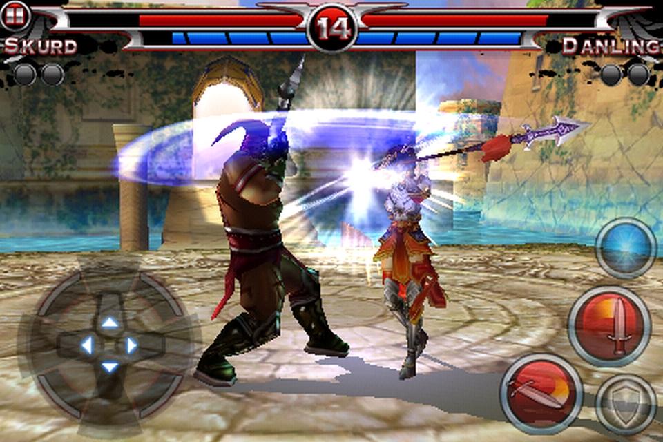 Blades of Fury FREE screenshot 2