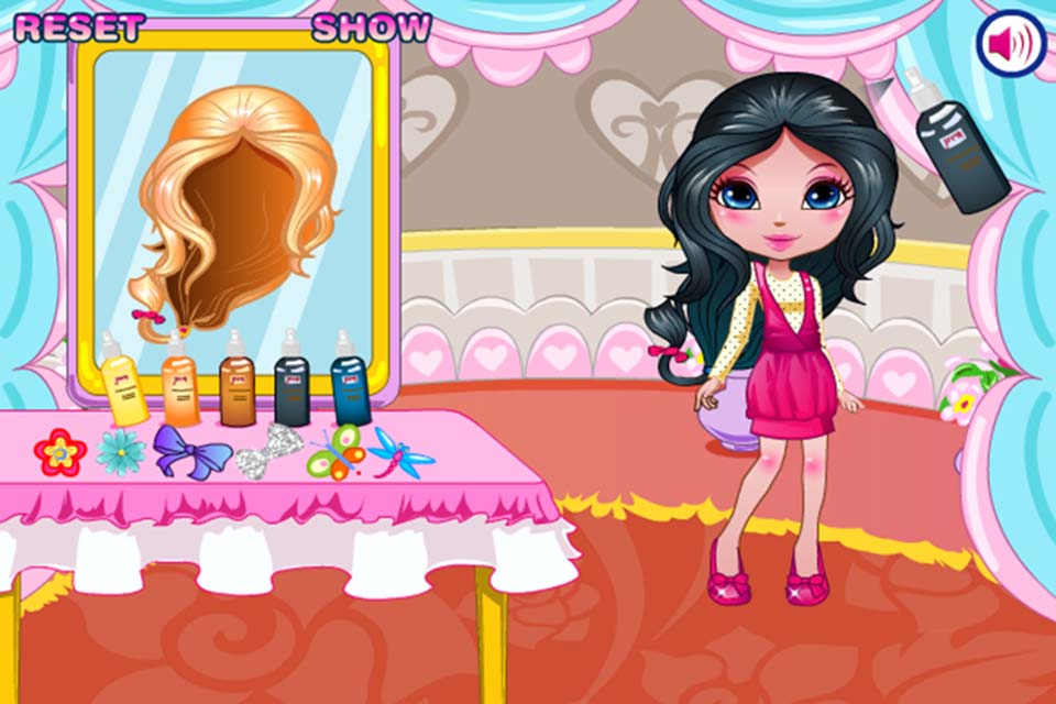 Hair Styling Games Online: Play Magic Hair Salon Game Online