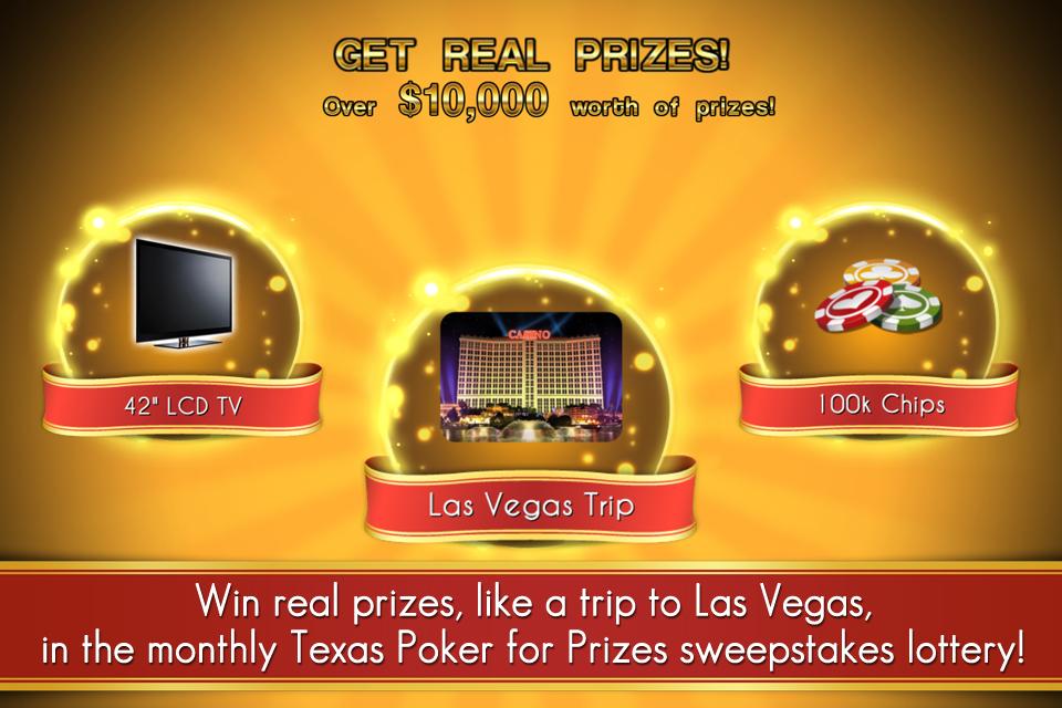 Texas Poker For Prizes - Online Hold'em Action screenshot #2