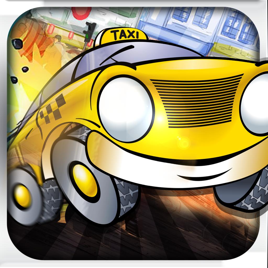 An Insane Taxi Race