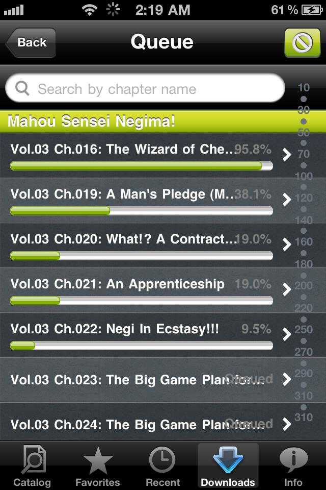 Manga Rock MF - The ultimate manga viewer screenshot 5