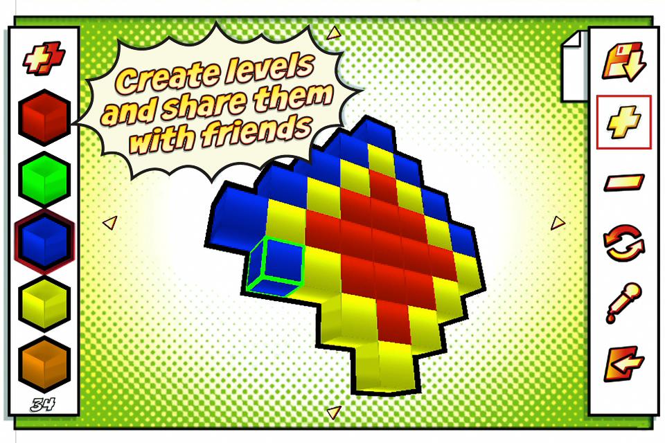 Motley Blocks™ FREE screenshot #5