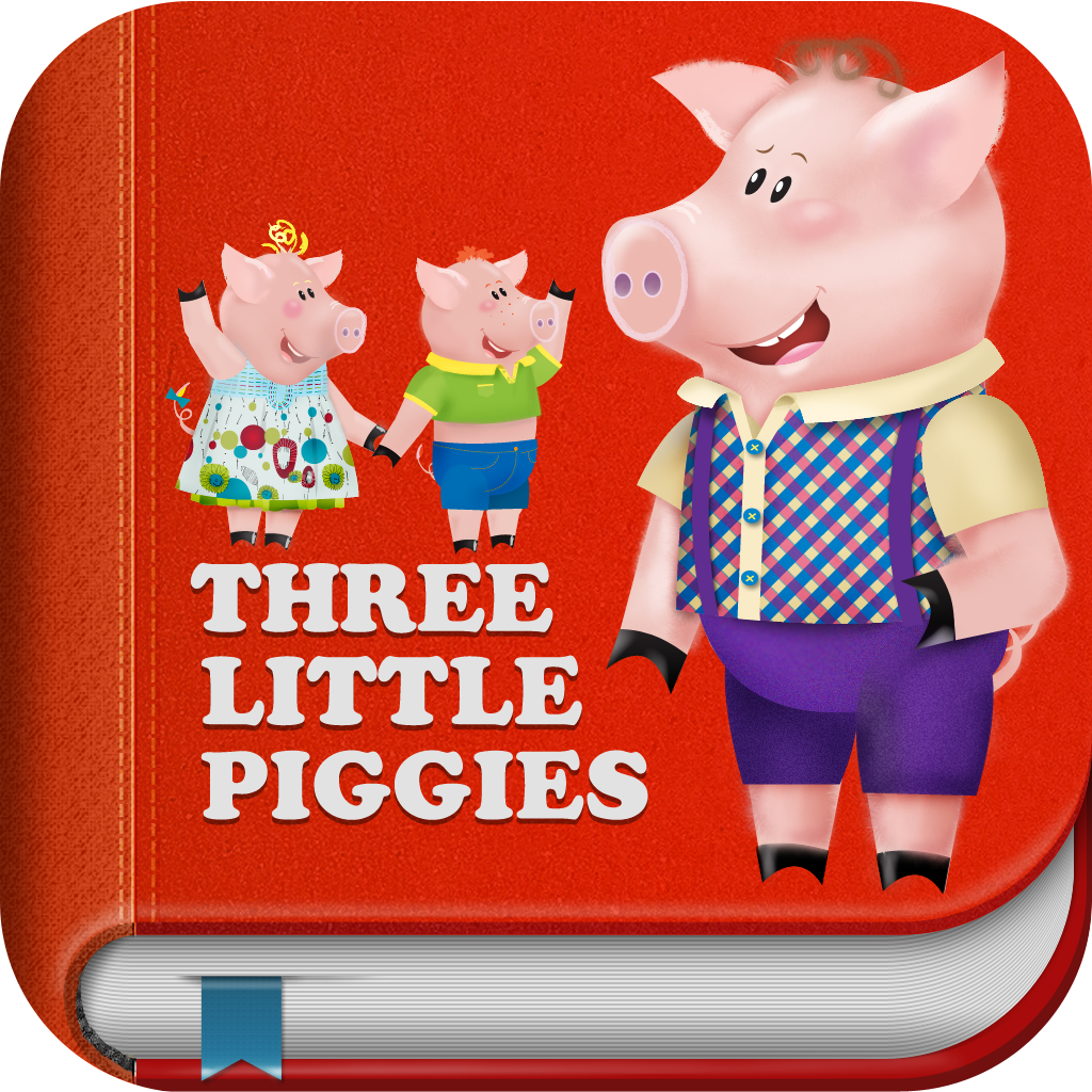 3 Little Piggies – Interactive Story Book with Animations