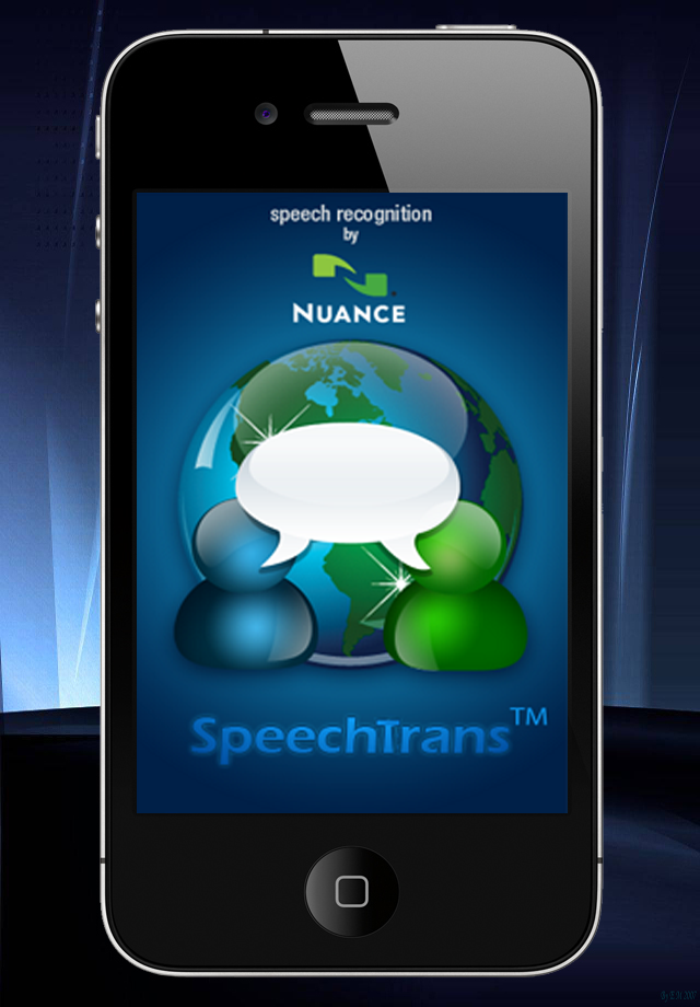 SpeechTrans Russian English Translator with Voice Recognition Powered by Nuance maker of Dragon Naturally Speaking screenshot #1