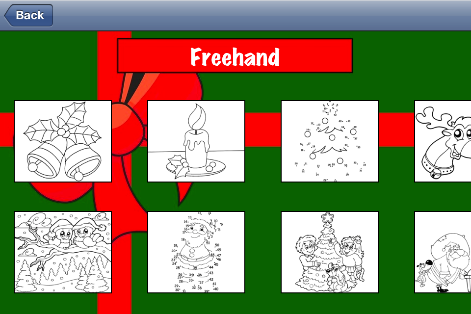 Color Mix (Holidays) – Learn Paint Colors by Mixing Paints & Drawing Winter Xmas Cards for Santa Screenshot