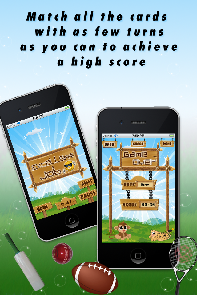 5-in-1 Memory Game Lite screenshot 4