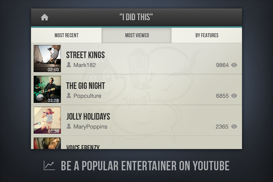 Game your Video Screenshot