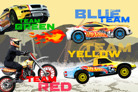 Team Hot Wheels Flame Riders™ screenshot 4