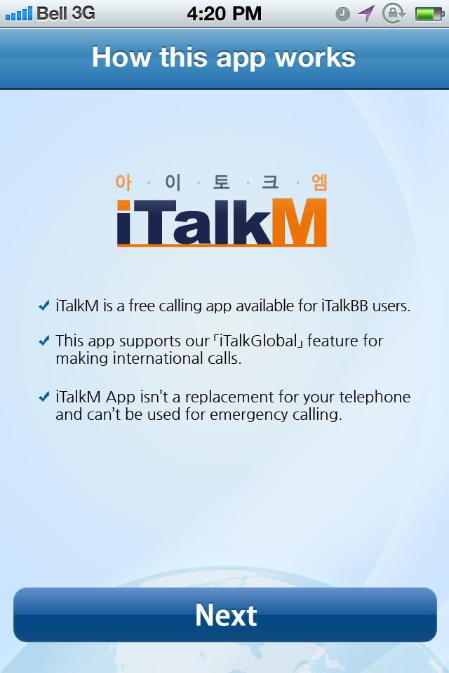 iTalkM by iTalk Global Communications